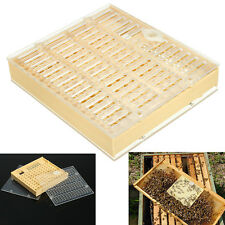 New Queen Rearing Cupkit Box Case Complete System Beekeeping Raise Bee's Tool