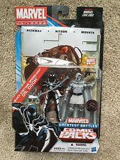 "Marvel Universe TRU Future Foundation Black Spider-Man Dr Doom Exclusive 3 3/4"""