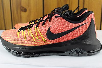 "the latest a13de ffd14 Nike KD 8 ""Hunt s Hill Sunrise"" TOTAL ORANGE SZ  11.0 NEW RARE AUTHENTIC"
