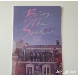 Bts Official Postcard Bts Bring The Soul The Movie Postcard New Ebay