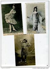 Lot cartes postales anciennes portraits acteurs cinema artistes célébrités