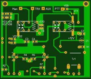 pcb of qrm eliminator x phase 1 30 mhz hf bands ebay. Black Bedroom Furniture Sets. Home Design Ideas