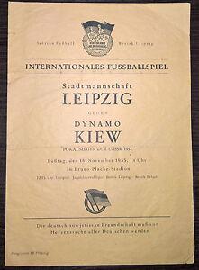 Rare-Leipzig-GDR-East-Germany-v-Dynamo-Kiev-USSR-1954