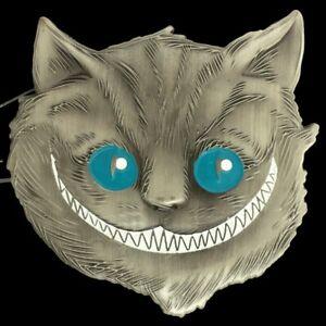 Marketing de motores de búsqueda Contiene mosaico  Nos NUEVO Gato de Cheshire Alicia en el país de las Maravillas Tim Burton  película Disney Hebilla de cinturón | eBay