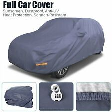 Waterproof Full Suv Car Cover Withlock Breathable Sun Uv Rain Dust Resistant Blue Fits Jeep