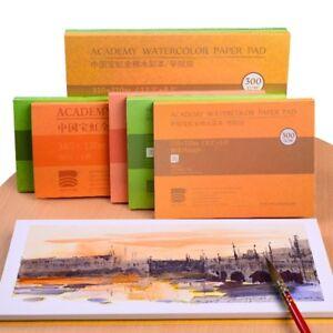 WATERCOLOUR-PAPER-Sheets-100-Cotton-Artists-Pad-Cold-W-Hot-Press-140lb-300gsm