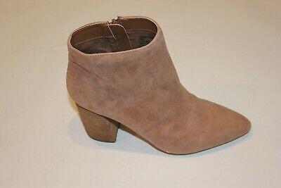 Tan Suede Simmer Booties Size: 9.5