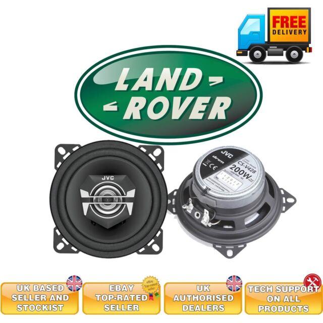 Landrover Defender replacement speakers JVC coaxial Defender 90 Defender 110