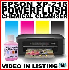Epson Expression XP-215: Kit de limpieza de cabezales: Cabezal de impresión desatascador LIMPIADOR de la boquilla