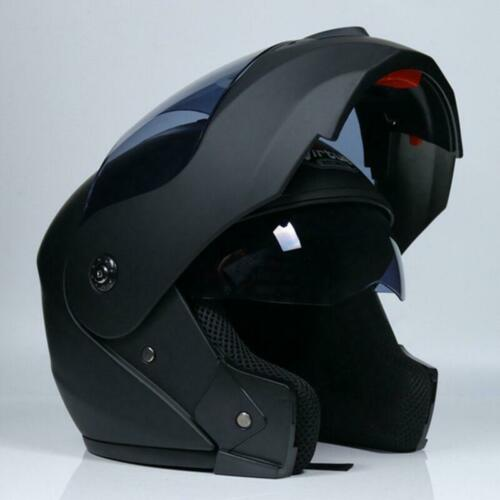Modular Flip Up Motorcycle Helmet Dual Visor Motocross Street Bike Full Face