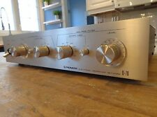 VINTAGE PIONEER D-70 SPEC ELECTRONIC CROSSOVER LOW AND HIGH PASS 2 4 SF N MINT