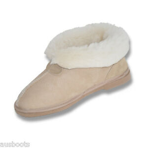 c47fb8343be Details about UGG BOOTS Women's Ladies Ugg Slippers Boots Australian Hand  Made Merino Wool