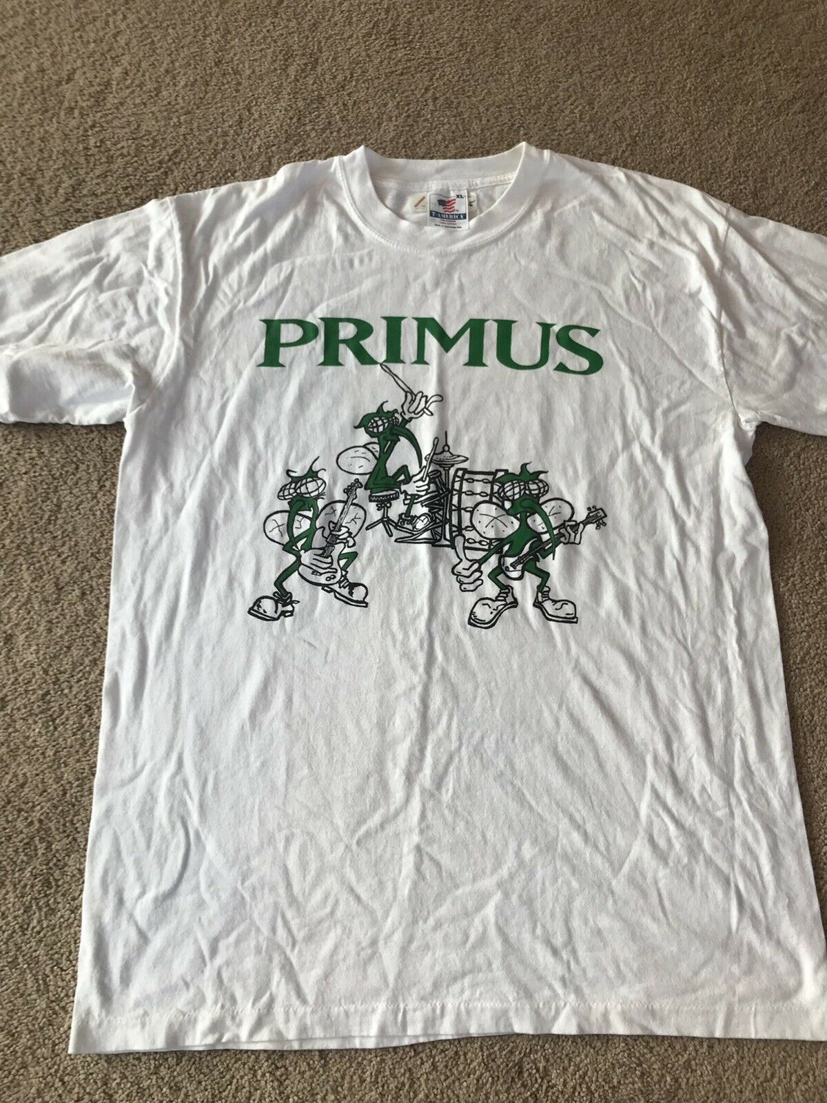 Vintage 1993 Lollapalooza Primus Alice In Chains … - image 1