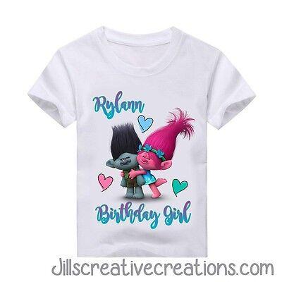 Trolls Party Trolls T shirt Personalized shirt Trolls Birthday Shirt