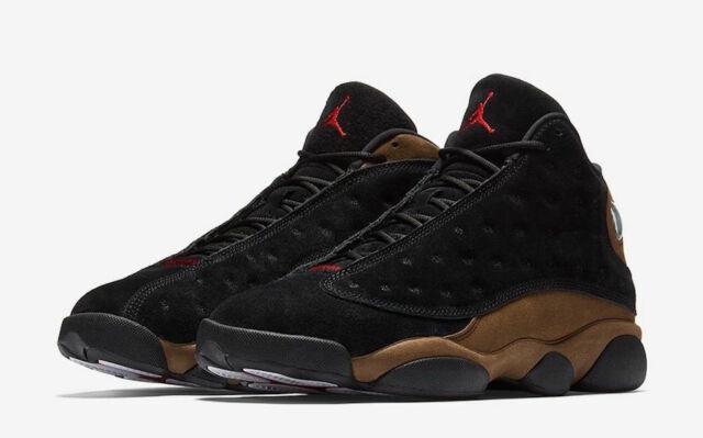 pretty nice 218d8 f06e8 Kids Nike Air Jordan 13 Retro GS Olive Black 884129-006 US 5.5y