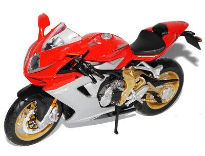 Motorrad Modell 1:12 MV Agusta Brutale 1090 R rot schwarz von Maisto