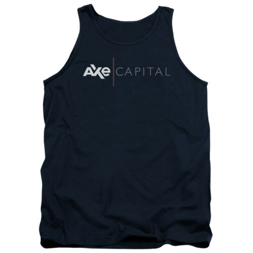 Billions TV Show AXE CAPITAL CORPORATE LOGO Licensed Adult Tank Top All Sizes