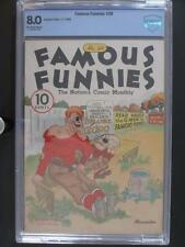Famous Funnies #28 - CBCS 8.0 VF - Eastern Color 1936 - Single HIGHEST GRADE!!!