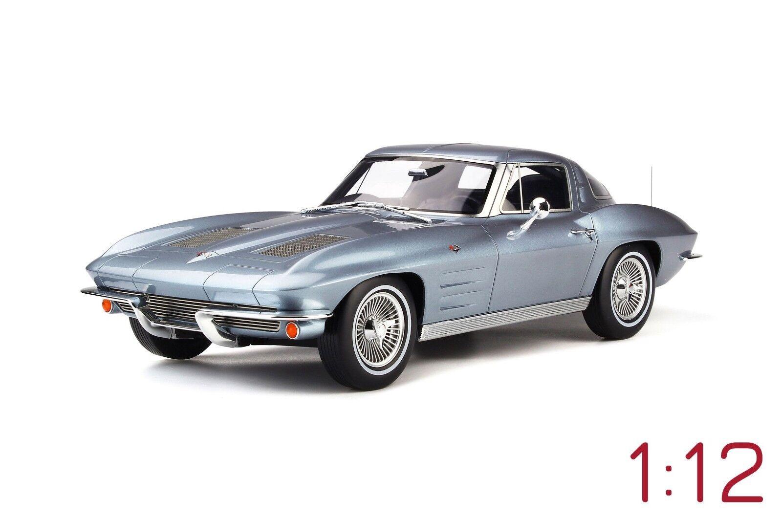 GT Spirit Chevrolet Corvette StinGris 1963 1:12 blu