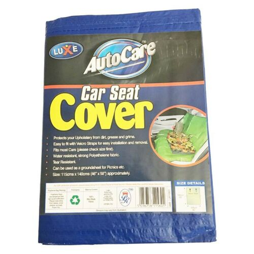 """Car Seat and Boot Lining Protector Cover BLUE 115cm x 140cm NEW 45/"""" x 55/"""""""