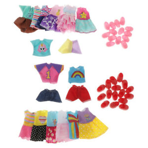 Lots-15-Fashion-Accessories-Clothes-Outfit-Kids-Toy-For-6-034-Baby-Dolls-Girls