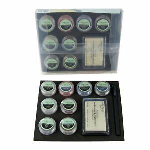Heat-Embossing-Glitter-Powder-Set-Embossing-Ink-Pad-Dual-Tip-Pen-Craft-Bundle