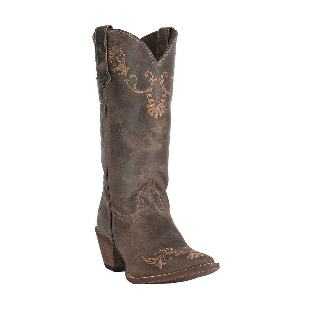 Rawhide by Abilene Ladies Brown/Tan Vine Boot 5147