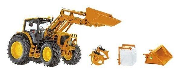 WIK77342 - Tracteur de type communal 7430 JOHN DEERE DEERE DEERE équipé du chargeur avec acc b0f810