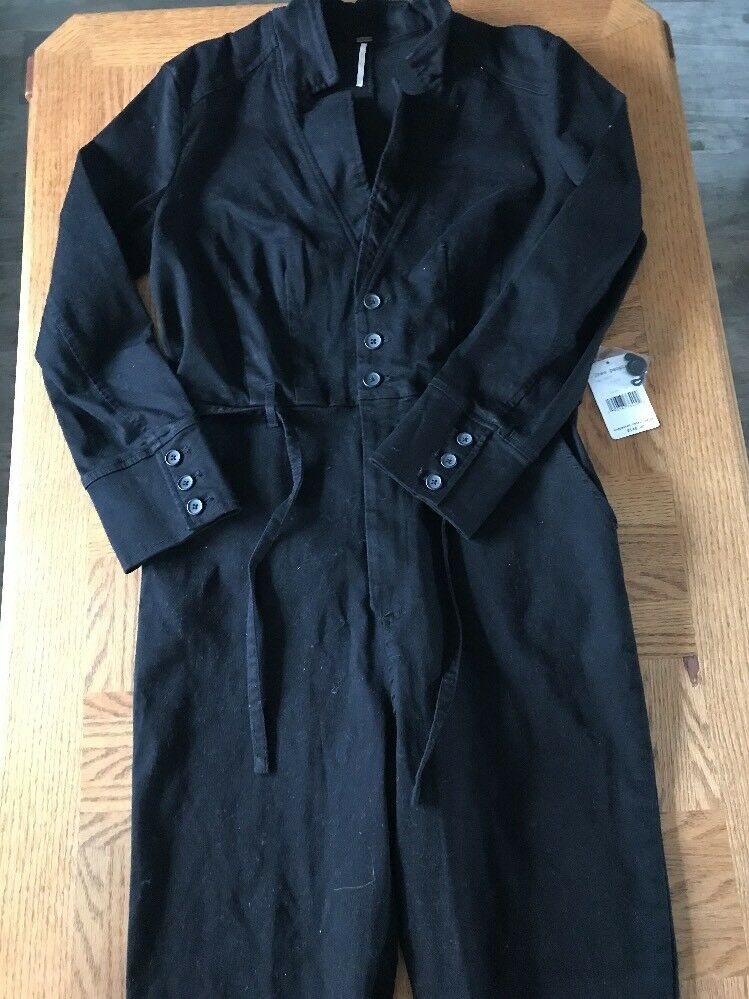 Free People Womens Full Jean Outfit Size 12 0043