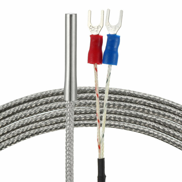 K Type Temperature Sensor Probe 2M Cable 4mmx30mm Thermocouple