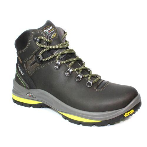 Grisport Kilimanjaro Mens All Terrain Dark Grey Wax Leather Hiking Walking Boot