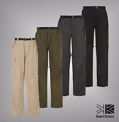 Entusiasta Pantaloni Uomo Walking Karrimor Aspen Zip Off Pantaloni All'aperto Taglie S-xxxxl-mostra Il Titolo Originale