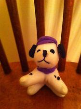 1996 Mattel Dalmatian Plush Toy Purple Collectible Puppy Dog Stuffed animal cute