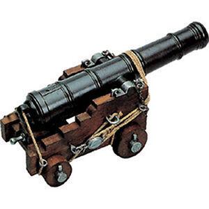 Naval Cannon Model 18th Century British 1800 Wood Trunk 10 ...