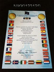 NATO-AFRICA-MEDAL-CERTIFICATE-IN-MINT-CONDITION