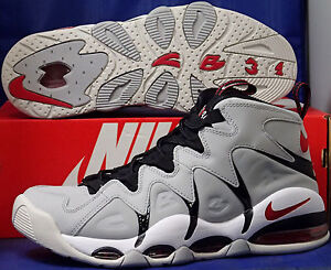 new styles 25fa7 55da6 Image is loading Nike-Air-Max-CB34-Wolf-Grey-Red-White-