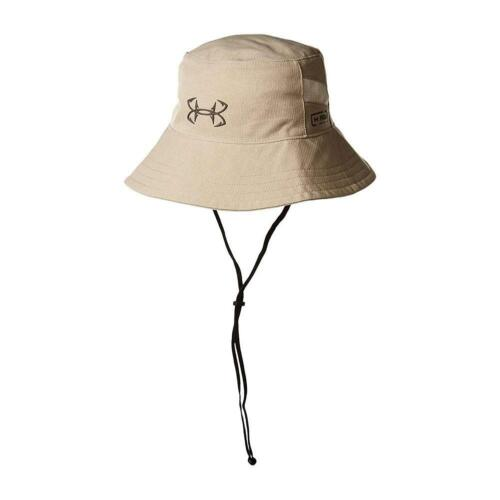 Fish Bucket Hat NEW Under Armour Men's UA CoolSwitch AmourVent UPF 30