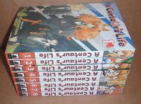 A Centaur's Life  Vol. 1,2,3,4,5,6,7,8 Manga Graphic Novels Set English