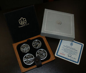 olympic coin proof set canada 1976