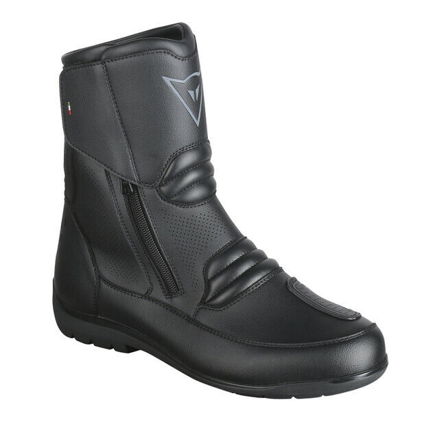 Dainese Nighthawk D1 Motorcycle short Boots With Goretex 001-BLACK 46
