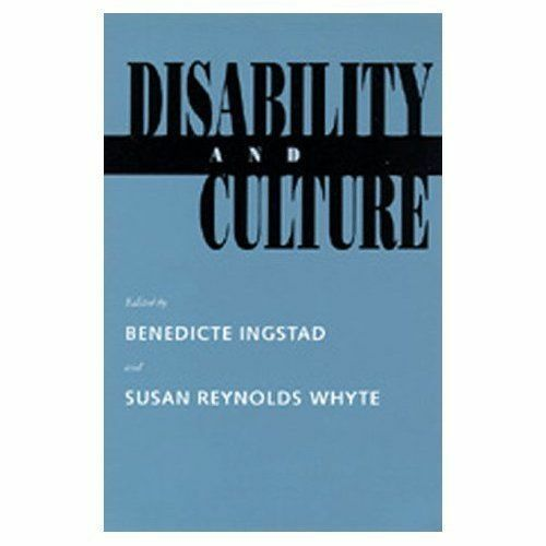 1 of 1 - Disability and Culture by Ingstad, Benedicte