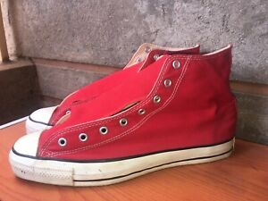 106ca64f31b42 Details about Vintage 80s/90s Chuck Taylor Made In Usa Converse Shoes Size  13.5