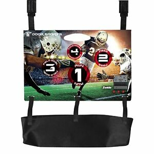 Details about Franklin Sports Door Hung Electronic Football Toss Game,  Light & Sound Effects