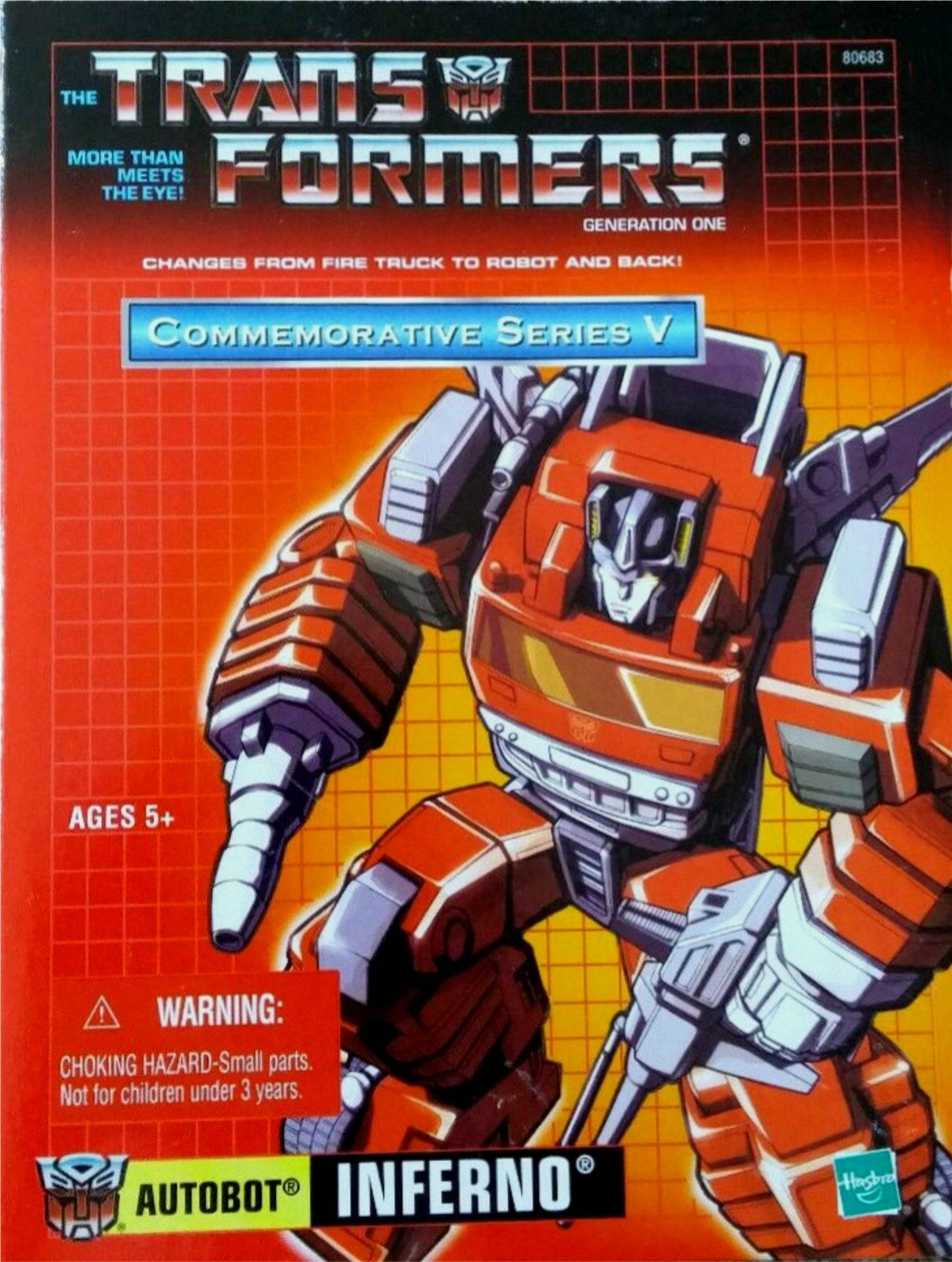 Transformers Inferno New Commemorative Reissue Factory Sealed GENERATION 1