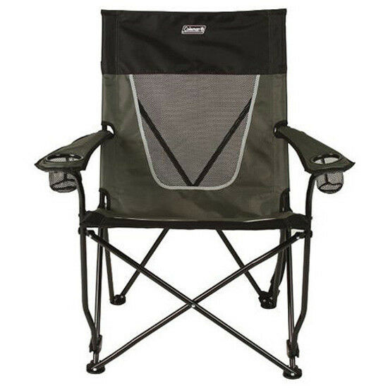 Coleman Ultimate Comfort Sling Chair grau Folding Seat Portable Lounge Outdoor