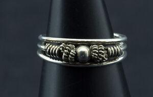 Bague de Pied Orteil Ethnique ajustable-bijou Argent  925-0.6g-W48 10122