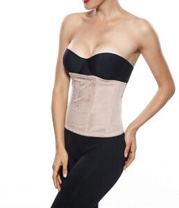 34b6898686829 M XL Instant Slimming Lace Boned SHAPEWEAR Waist CINCHER Corset Belt ...