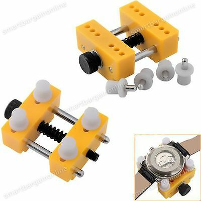 Watch Back Case Cover Opener Remover Holder Adjustable Location Repair Kit Tool
