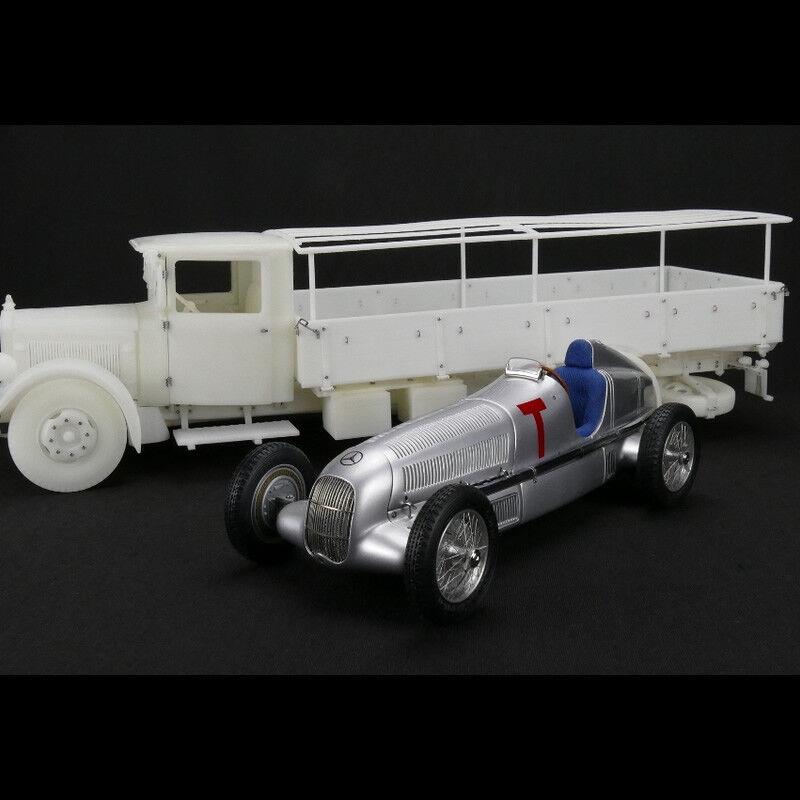 CMC M -164 Mercedes -Benz 1934 Racebil Transporter W25 T Biluppsättning NEW 1 18