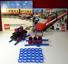 Lego,116,120,138,118,122,112,721,Eisenbahn,Haftreifen, 30x blau 4,5V,Motor,Train